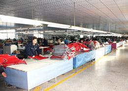 美科布件生产线